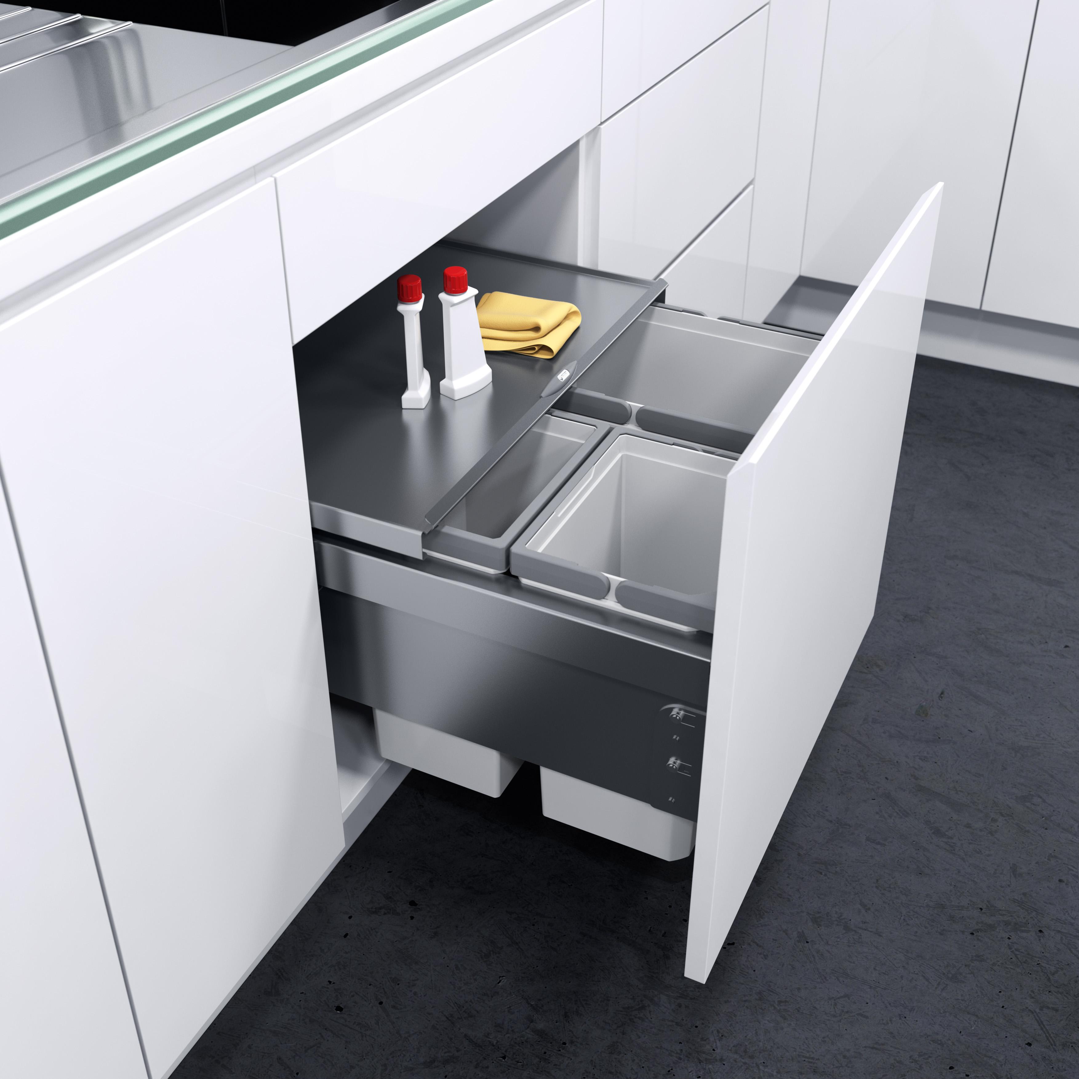 Küchen Mülleimer Einbau