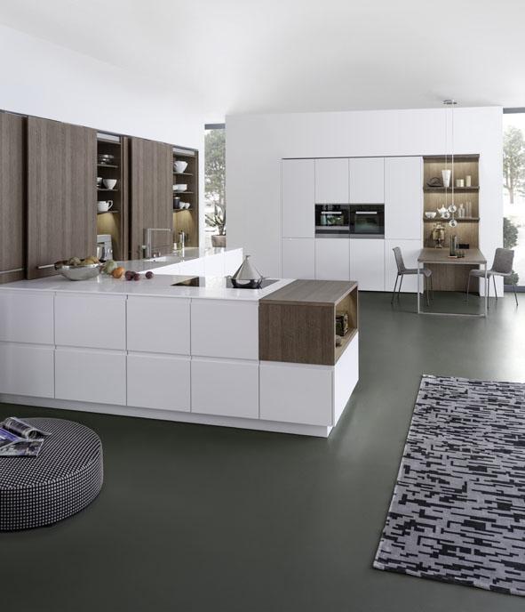 Farbgestaltung in der Küche: Drei Farben sind genug
