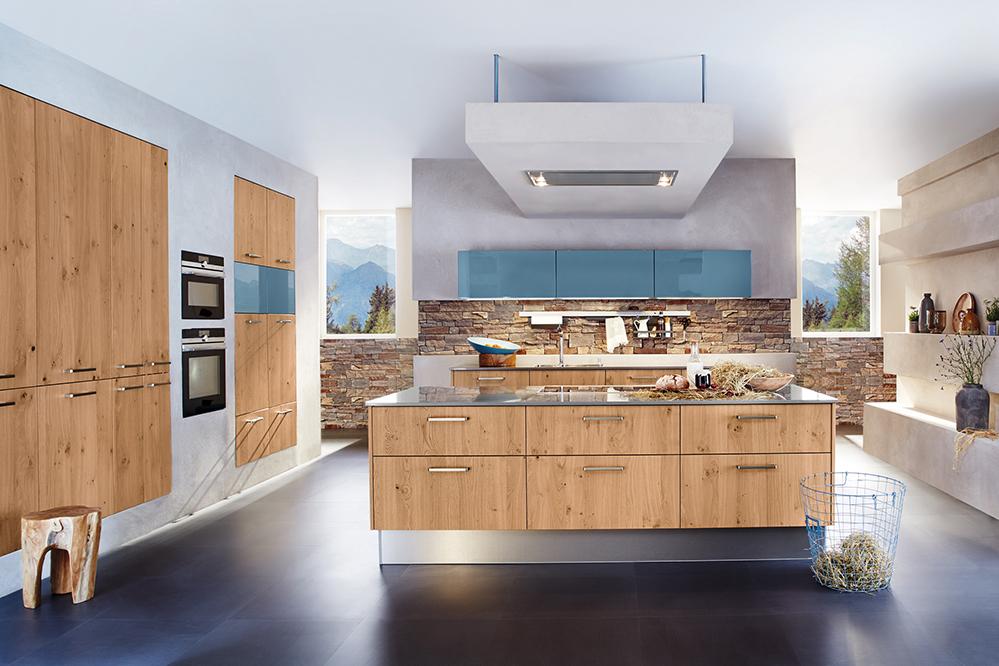 Arbeitsgemeinschaft die moderne küche e v amk küchen 2016 auch die optik zählt trend zu material kombinationen mannheim 09 06 2016 eine moderne
